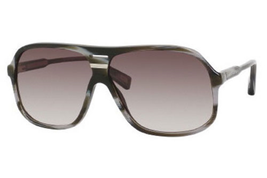 Marc Jacobs 344/S Sunglasses in 043I Dark Horn (JS gray gradient lens)