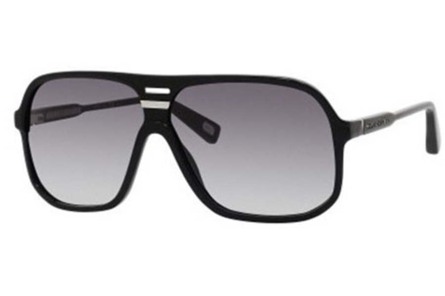 Marc Jacobs 344/S Sunglasses in 0807 Black (JJ gray shaded lens)