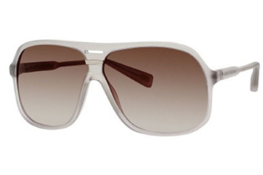 Marc Jacobs 344/S Sunglasses in 0RDN Gray Transparent (CC brown gradient lens)