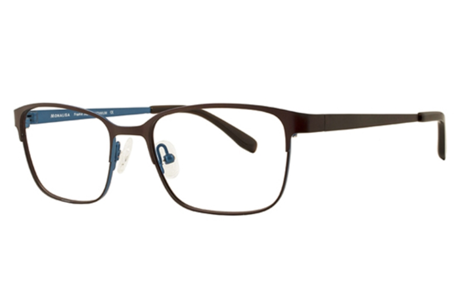 Clariti Monalisa Monalisa M8819 Eyeglasses in C2 Matt Brown/Lite Blue