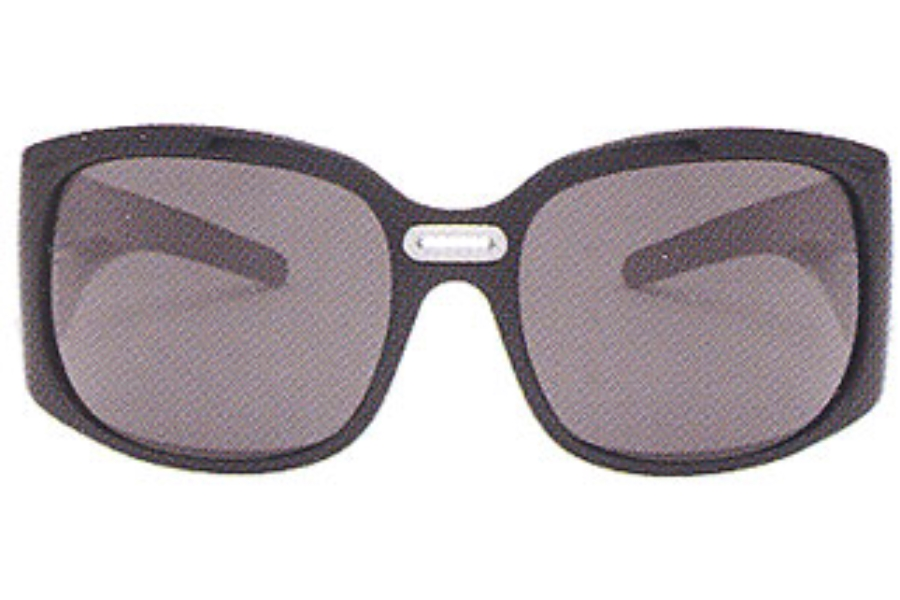 Mont Blanc MB 88/S Sunglasses in B5 Shiny Black w/Smoke Grey Lenses