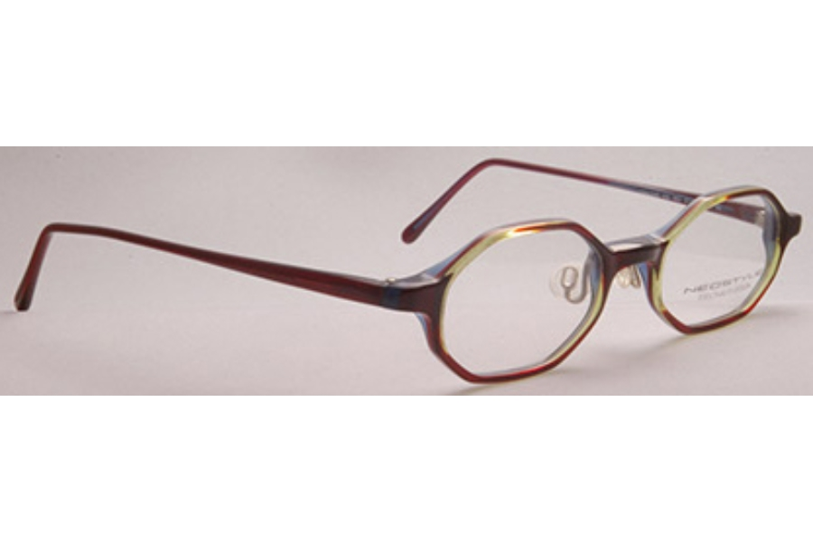 Neostyle College 164 Eyeglasses in 063 Deep Red