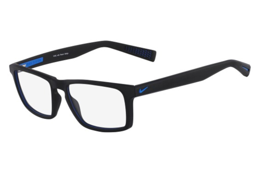 Nike NIKE 4258 Eyeglasses in 016 Black/Photo Blue