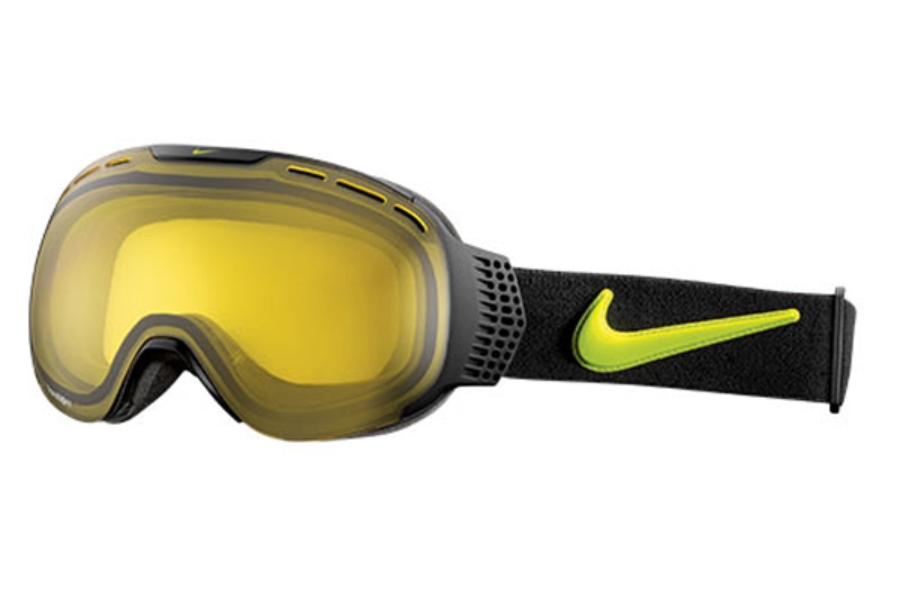 Nike COMMAND 2 EV0844 Goggles in 089 Blackcybr/Transitions Yllw