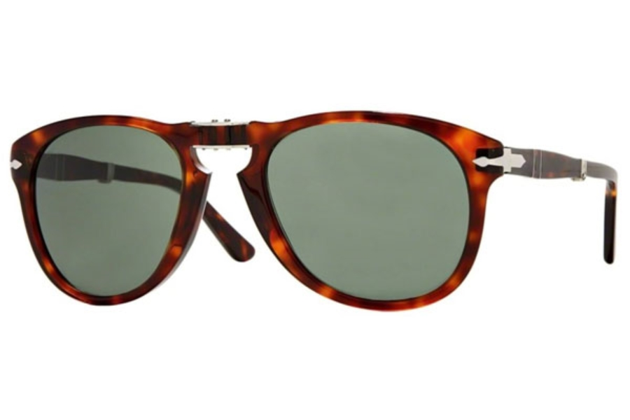 Persol PO 0714 Folding Sunglasses in 24/31 Havana Crystal Green (Discontinued)