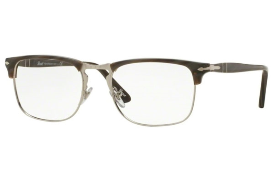 Persol PO 8359V Eyeglasses in 1045 Dark Horn (Discontinued)