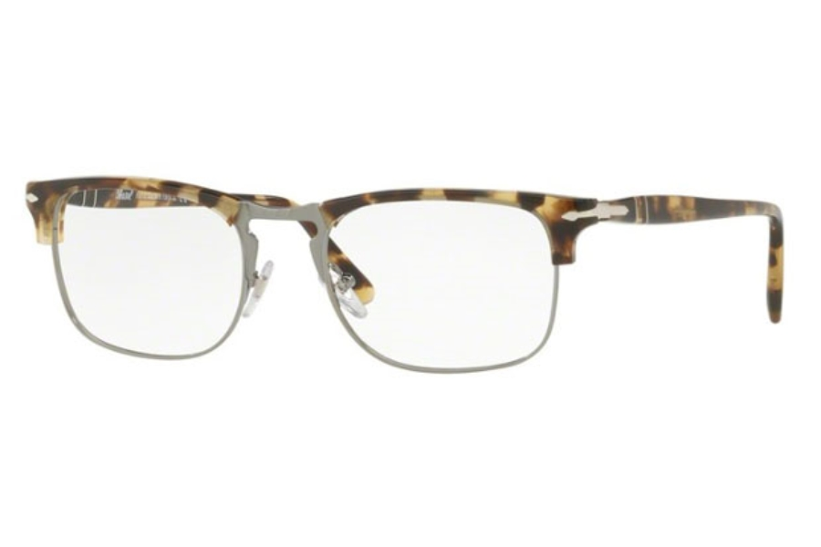 Persol PO 8359V Eyeglasses in 1056 Brown/Beige Tortoise (51 Eyesize Only)