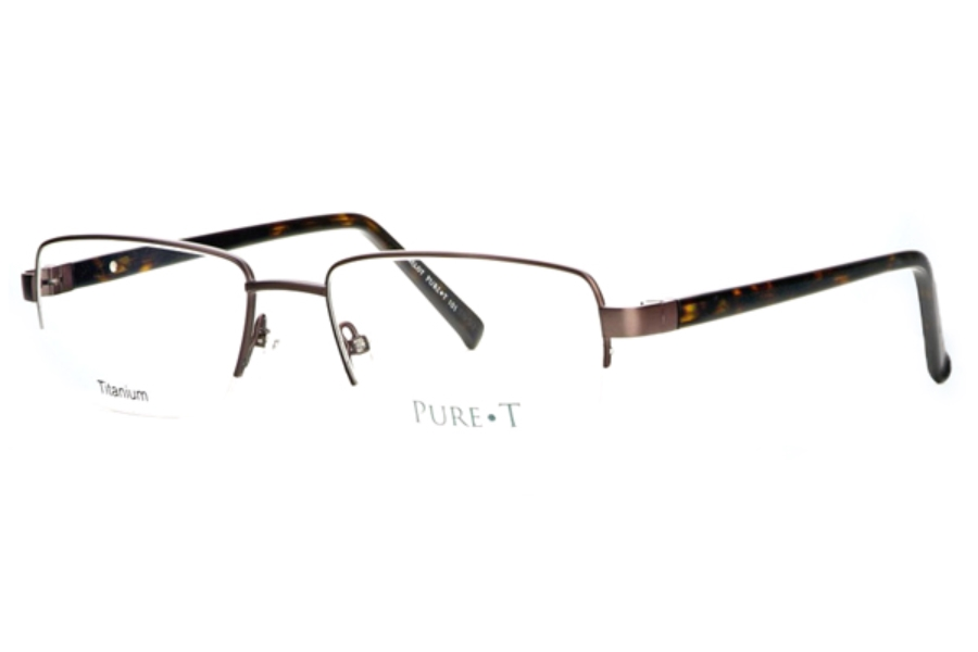 Pure T T101 Eyeglasses in Brown