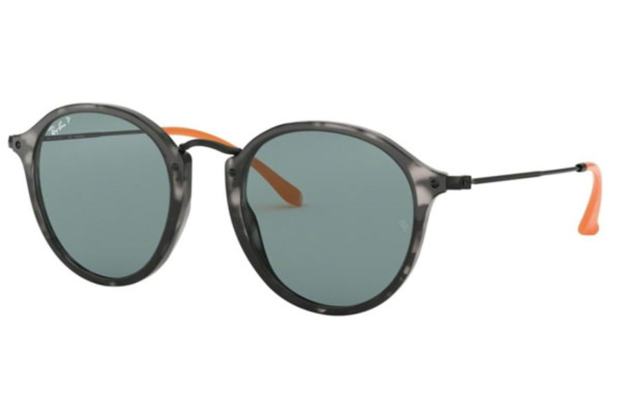Ray-Ban RB 2447 Sunglasses in 124652 Grey Havana / Blue Polar (Discontinued)