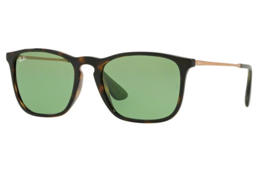 Ray-Ban RB 4187 Sunglasses in 6393/2 Havana / Green