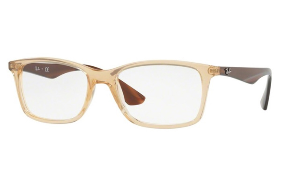 Ray-Ban RX 7047 Eyeglasses in 5770 Trasparent Beige