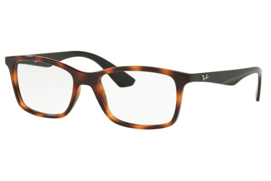 Ray-Ban RX 7047 Eyeglasses in 5847 Red Havana