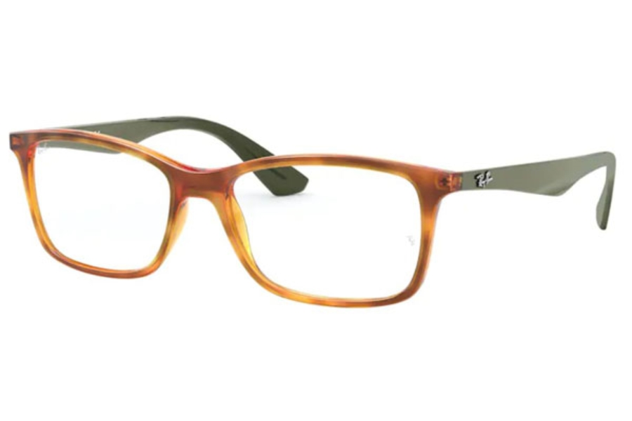 Ray-Ban RX 7047 Eyeglasses in 5990 Yellow Light Havana (Discontinued)