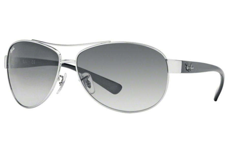 Ray-Ban RB 3386 Sunglasses in 003/8G Silver Grey Gradient