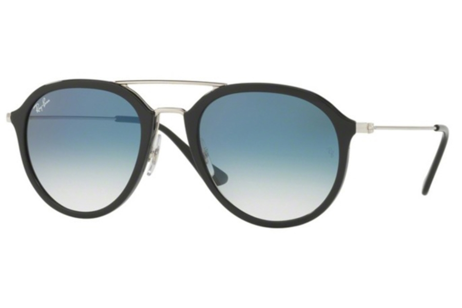 Ray-Ban RB 4253 Sunglasses in 62923F Black / Clear Gradient Blue