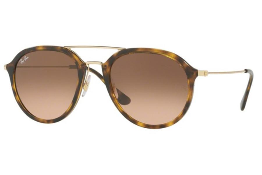 Ray-Ban RB 4253 Sunglasses in 710/A5 Havana / Pink Gradient Brown