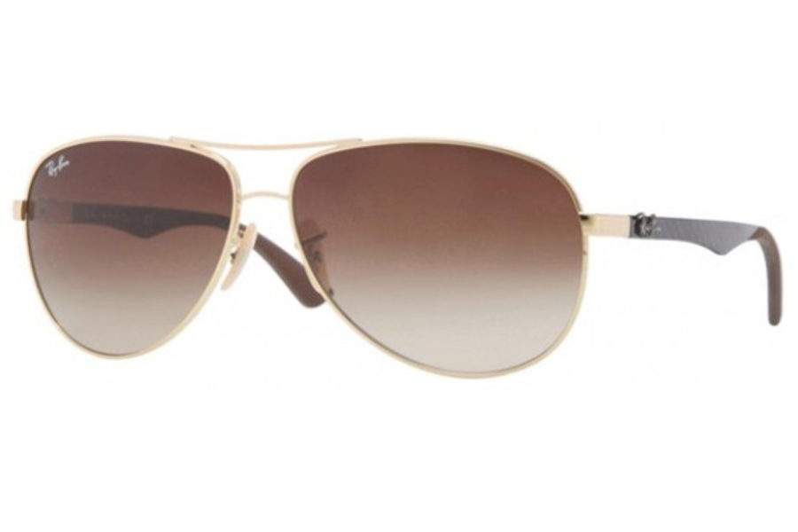 Ray-Ban RB 8313 Sunglasses in 001/51 Arista Crystal Brown Gradient