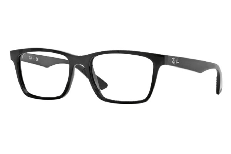Ray-Ban RX 7025 Eyeglasses in 2000 Shiny Black