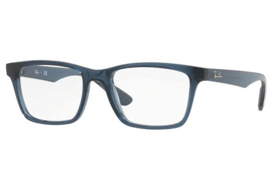 Ray-Ban RX 7025 Eyeglasses in 5719 Trasparent Grey/Blue