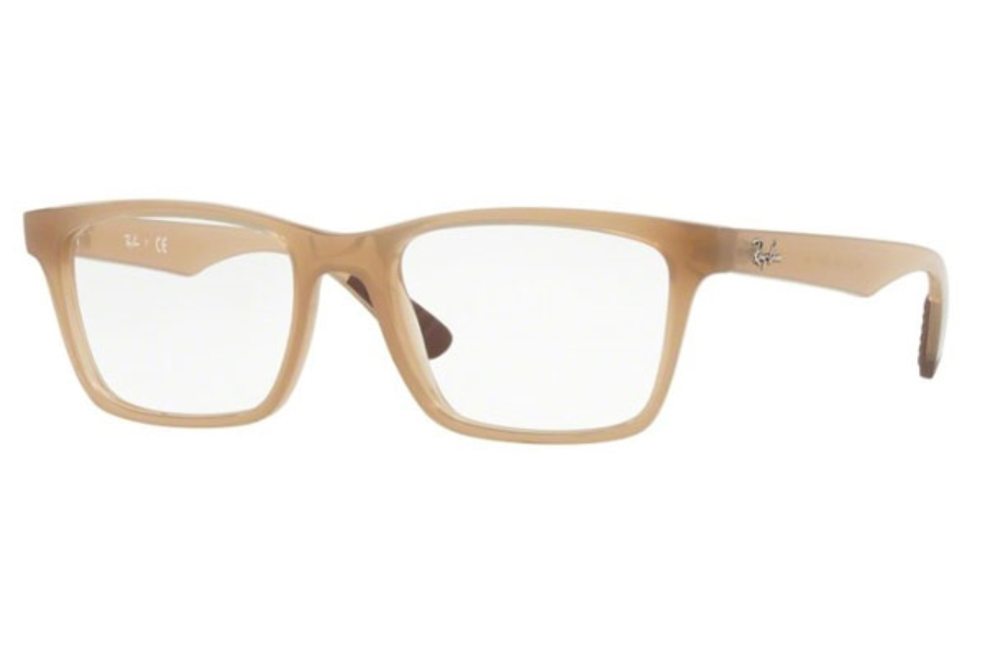Ray-Ban RX 7025 Eyeglasses in 8018 Trasparent Beige (55 Eyesize Only)