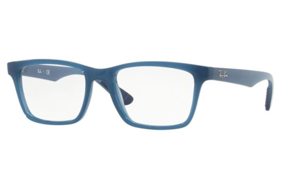 Ray-Ban RX 7025 Eyeglasses in 8019 Trasparent Light Blue