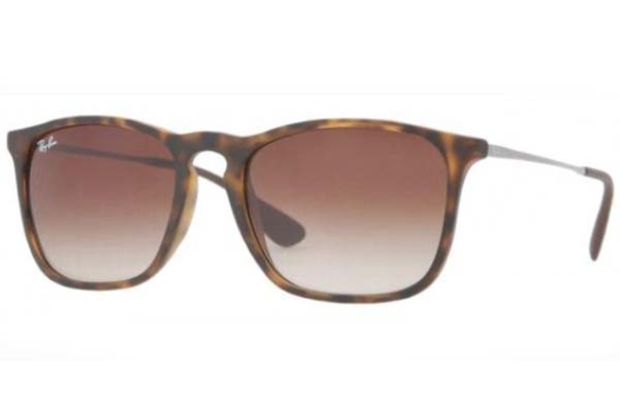 Ray-Ban RB 4187 Sunglasses in 856/13 RUBBER HAVANA BROWN GRADIENT