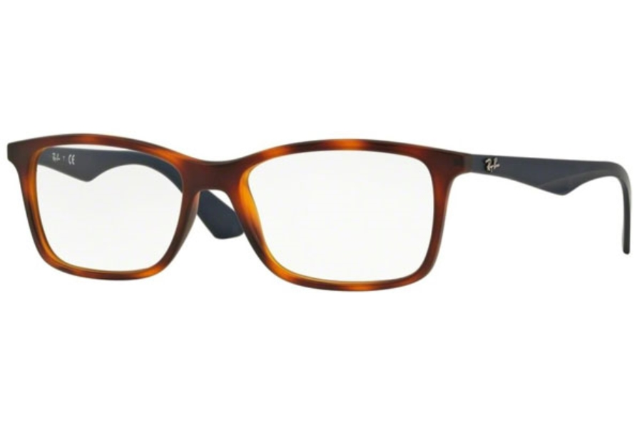 Ray-Ban RX 7047 Eyeglasses in 5574 Matte Light Havana
