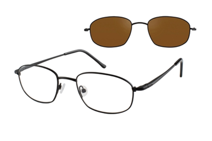 a49ef7bbb3 ... Revolution w Magnetic Clip Ons REV388 w Magnetic Clip-on Eyeglasses in  Revolution ...
