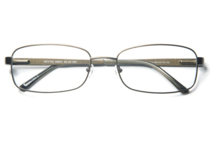 Revolution w/Magnetic Clip Ons REV742 w/Magnetic Clip-on Eyeglasses in Revolution w/Magnetic Clip Ons REV742 w/Magnetic Clip-on Eyeglasses