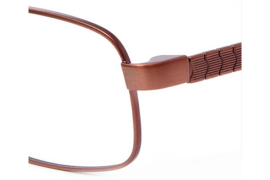 Revolution w/Magnetic Clip Ons REV742 w/Magnetic Clip-on Eyeglasses in BRZ BRONZE