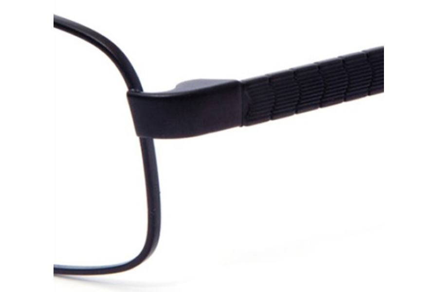 Revolution w/Magnetic Clip Ons REV742 w/Magnetic Clip-on Eyeglasses in MBLK MATTE BLACK