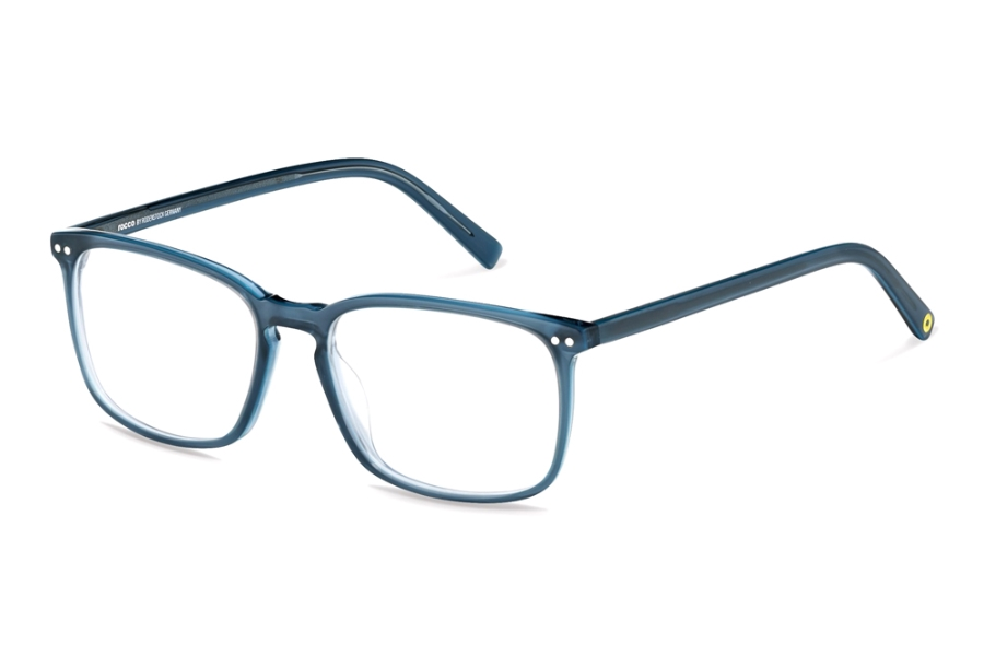 Rocco by Rodenstock RR448 Eyeglasses in C Blue Layered