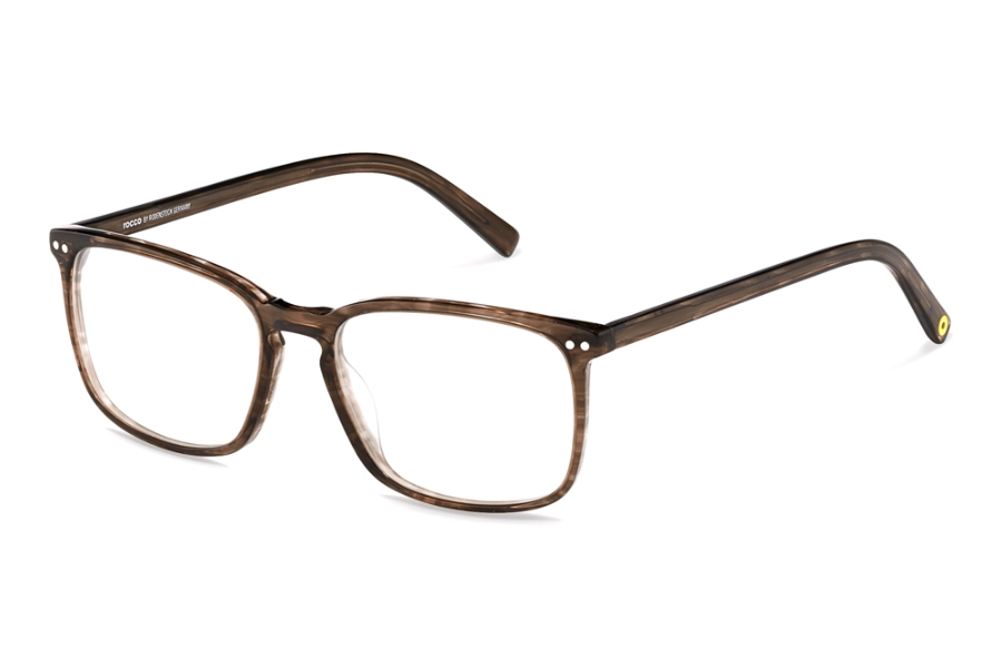 Rocco by Rodenstock RR448 Eyeglasses in D Brown Structured