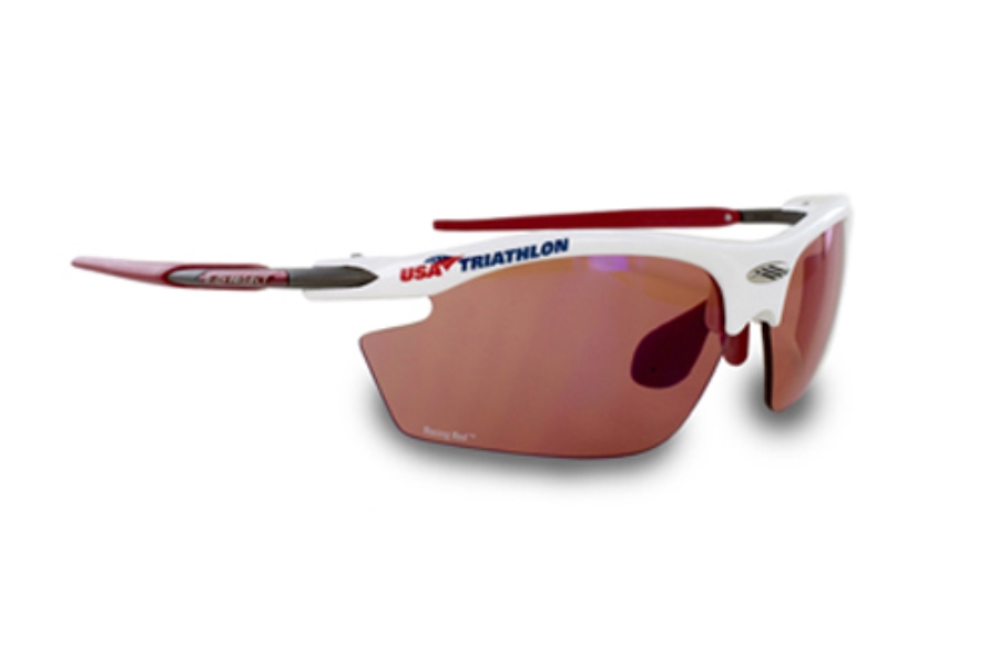 4f0feea871f ... Rudy Project Rydon Sport Sunglasses in SN790369UT2 Usat White Gloss  Racing Red Le ...