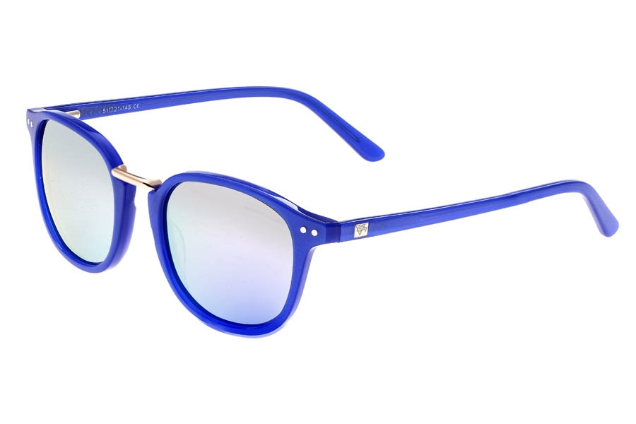Sixty One Champagne Sunglasses in Blue/Lavender