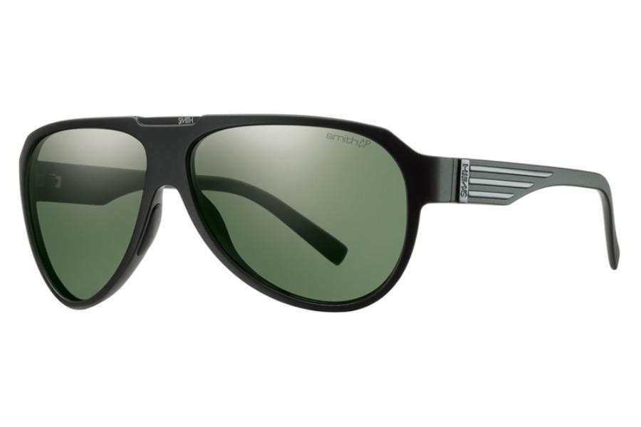 8bbb979cd6cf5 Smith Optics Soundcheck Sunglasses in Matte Black   Polarized Gray Green  Chromapop Lens ...