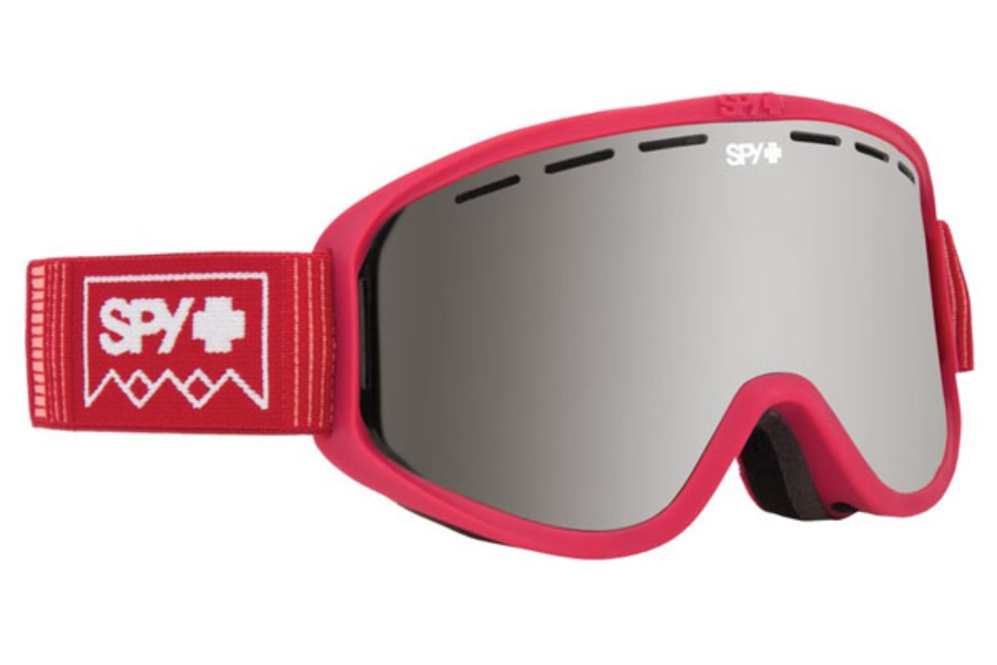 Spy WOOT MX - Continued I Goggles in Deep Winter Blush w/ronze with Silver Spectra + Persimmon