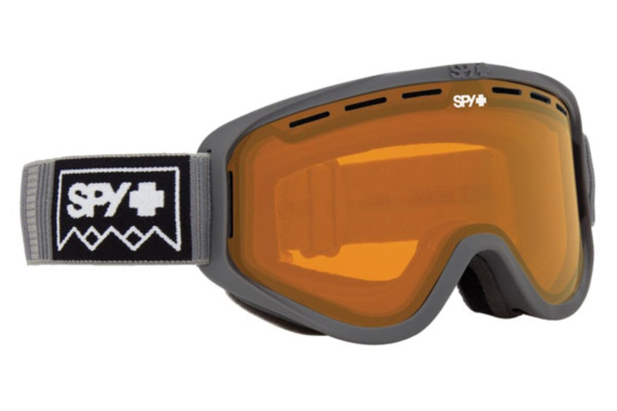 Spy WOOT MX - Continued I Goggles in Deep Winter Gray w/Persimmon