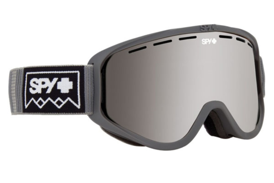 Spy WOOT MX - Continued I Goggles in Deep Winter Gray w/Bronze with Silver Spectra + Persimmon