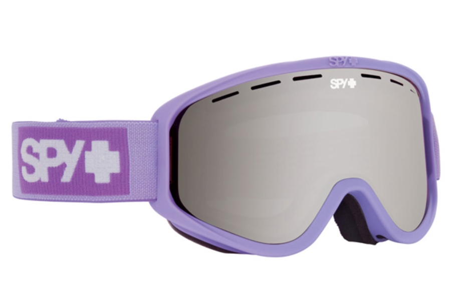 Spy WOOT MX - Continued I Goggles in Elemental Lavendar / Silver Mirror + Persimmon