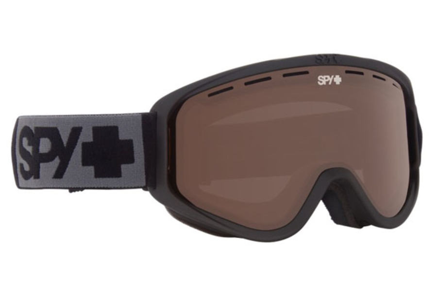 Spy WOOT MX - Continued I Goggles in Matte Black w/Bronze
