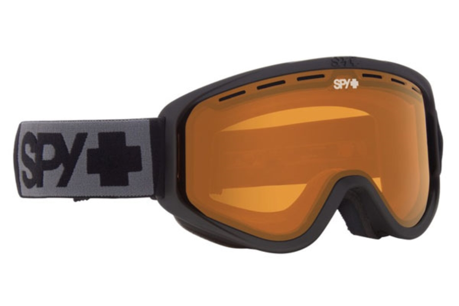 Spy WOOT MX - Continued I Goggles in Matte Black w/Persimmon
