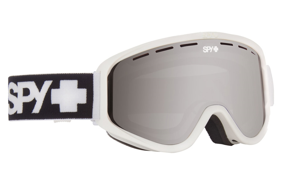 Spy WOOT MX - Continued I Goggles in Matte White/Bronze