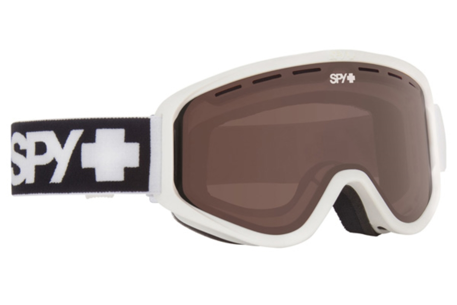 Spy WOOT MX - Continued I Goggles in Matte White/Persimmon