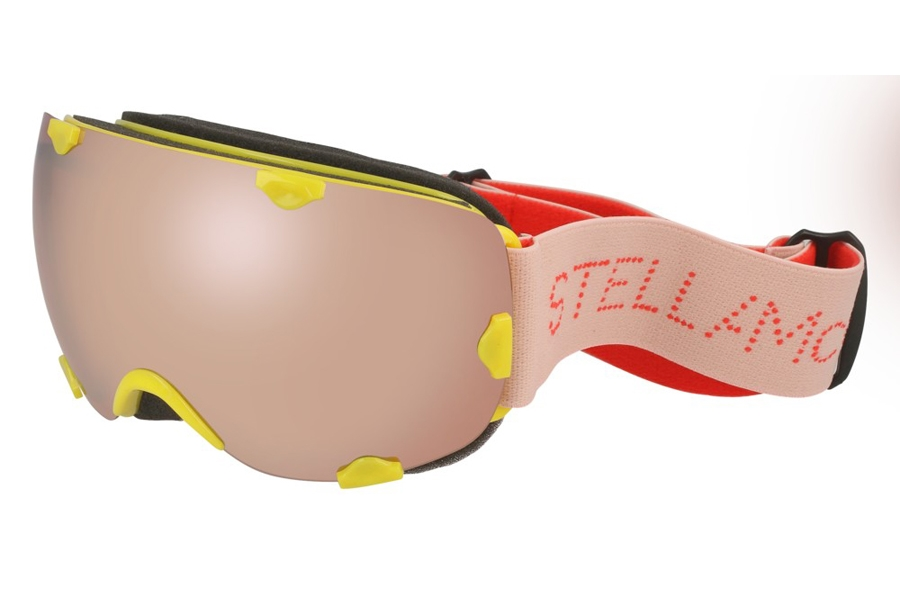 Stella McCartney SK0030S Goggles in 002 Yellow Pink/Silver
