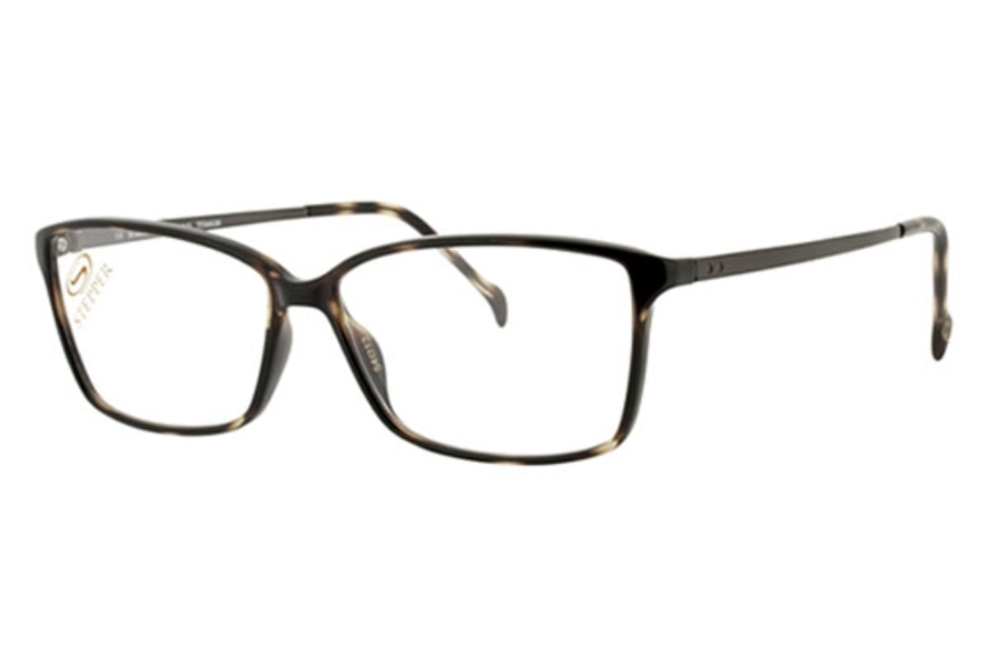 Stepper Titanium 30048 SI Eyeglasses in F620 Tortoise
