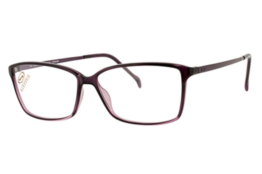 Stepper Titanium 30048 SI Eyeglasses in F880 Plum