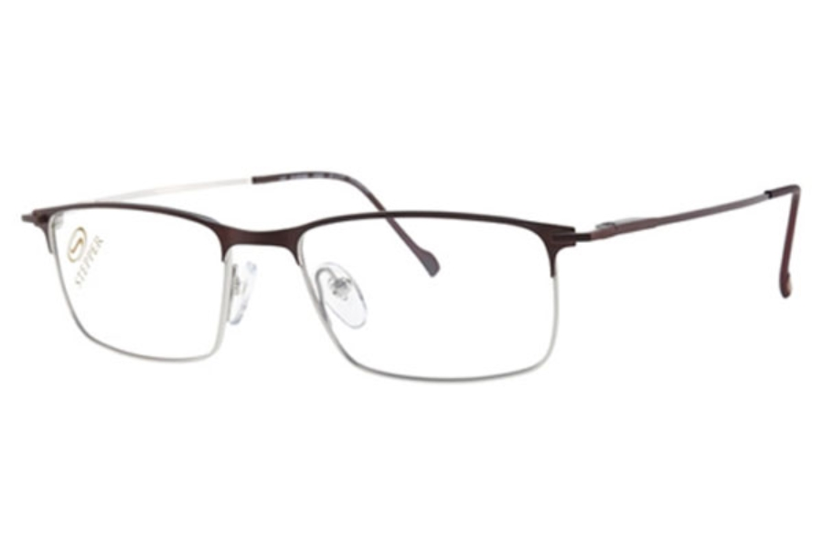 Stepper Titanium 60088 SI Eyeglasses in F033 Brown