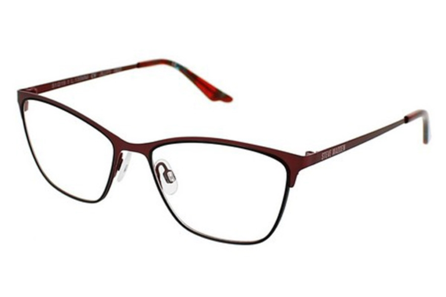 Steve Madden Jillyy Eyeglasses in Red