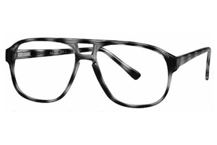 Stylewise Walter Eyeglasses in Amber-Dark Brown